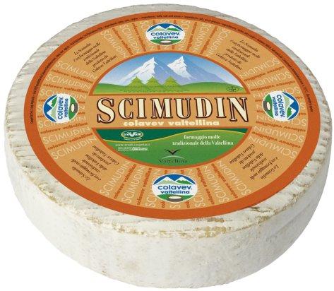 Il formaggio scimudin