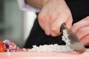 le mani del cuoco